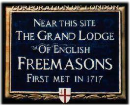 Памятная доска в Лондоне